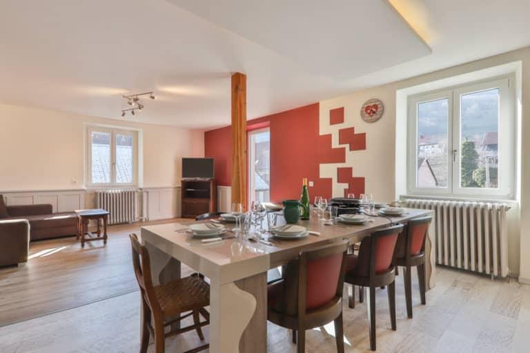 Les trois sommets - La Villa du Hohneck -1er étage - Séjour & Cuisine - 2