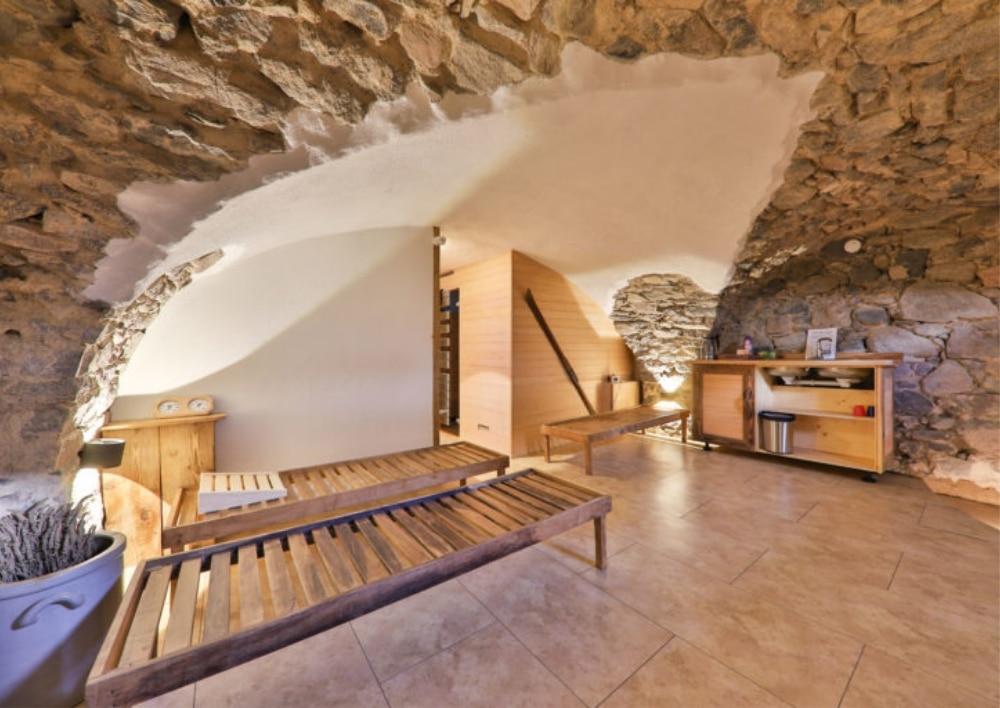 Les trois sommets - La villa du Petit Ballon - La cave