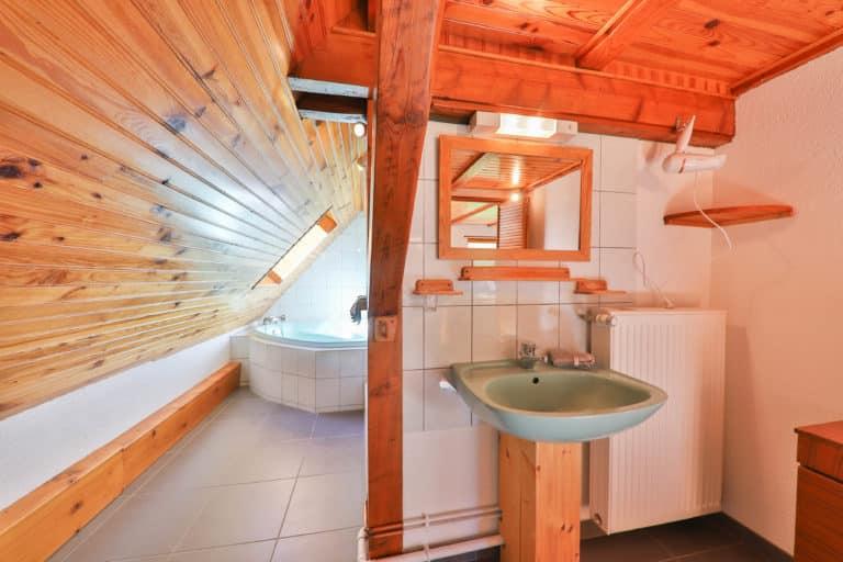 Les trois sommets - Le Panoramic - Salle de bain